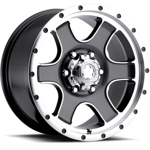 Ultra 173-174 Nomad Anthracite Machined Wheels