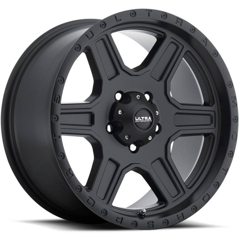 Ultra 176 Vagabond Satin Black Wheels