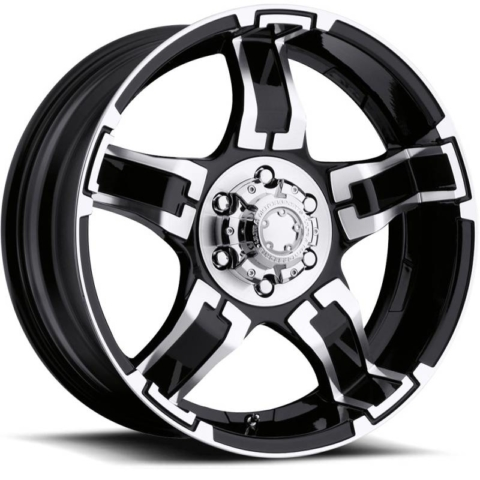 Ultra 193-194 Drifter Gloss Black Machined Wheels