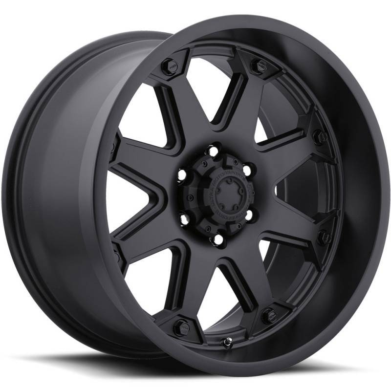 Ultra 198 Bolt Satin Black Wheels