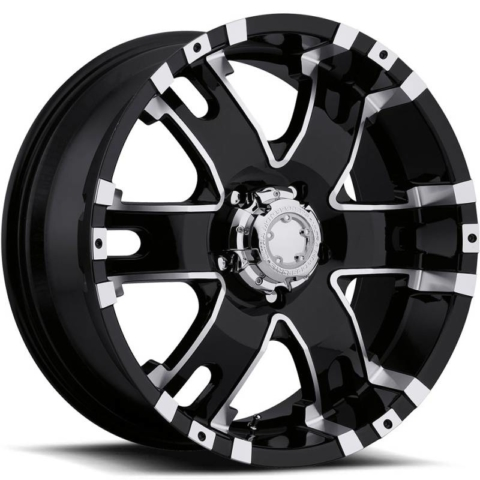 Ultra 201-202 Barron Gloss Black Machined Wheels