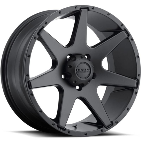 Ultra 205 Tempest Satin Black Wheels
