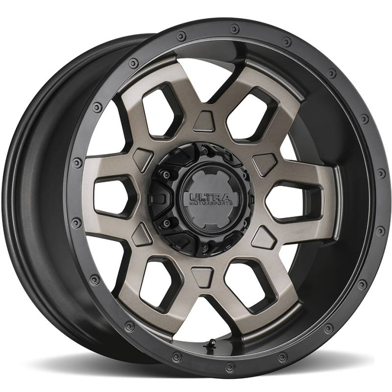 Ultra 217 Warlock Satin Bronze Wheels