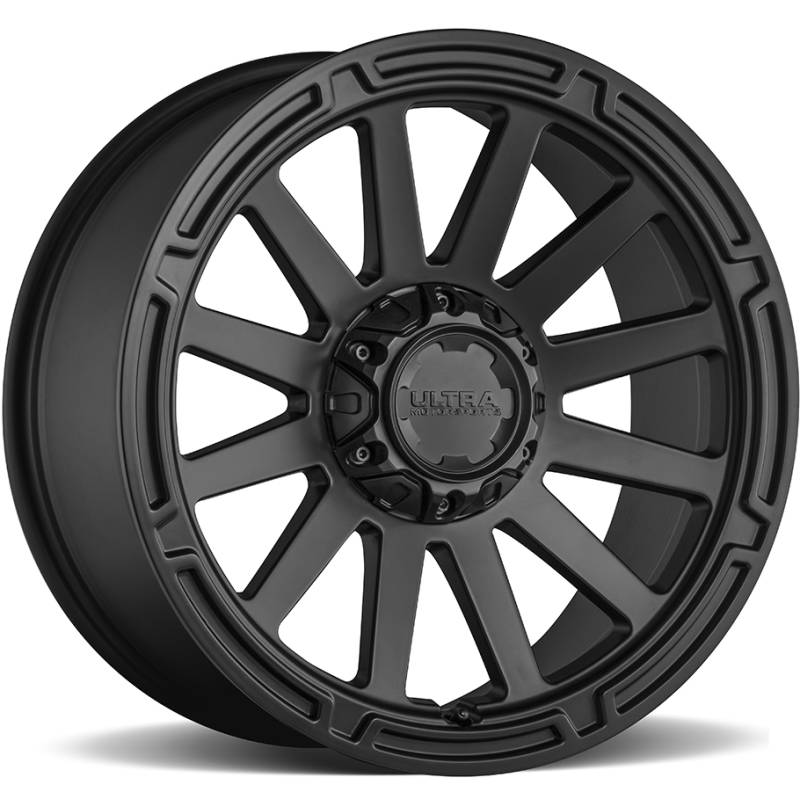 Ultra 218 Phantasm Satin Black Wheels