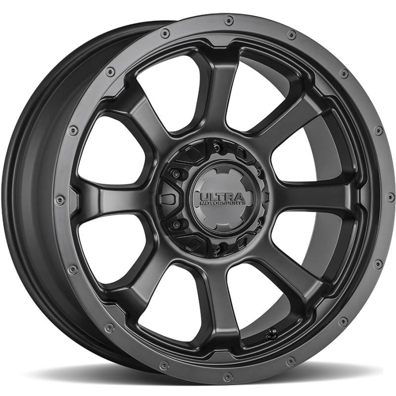 Ultra 219 Nemesis Satin Black Wheels