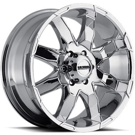 Ultra 225 Phantom Chrome Wheels