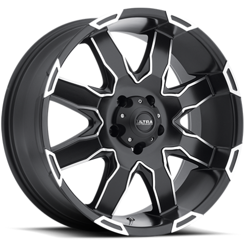 Ultra 225 Phantom Satin Black Machined Wheels