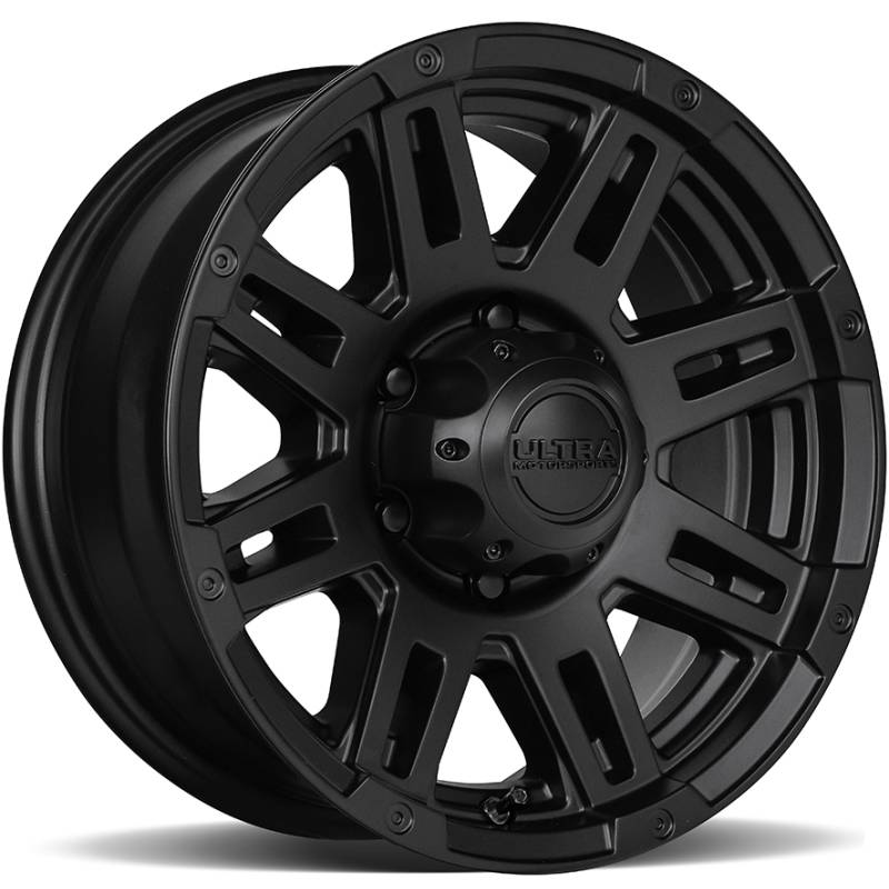 Ultra 226 Machine Trailer Satin Black Wheels