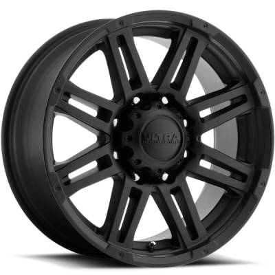 Ultra 226 Machine Satin Black Wheels
