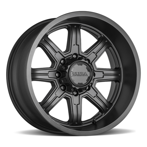 Ultra 229 Menace Satin Black Wheels