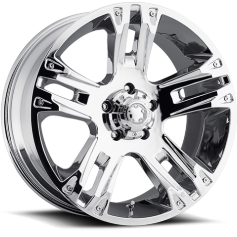 Ultra 234-235 Maverick Chrome Wheels