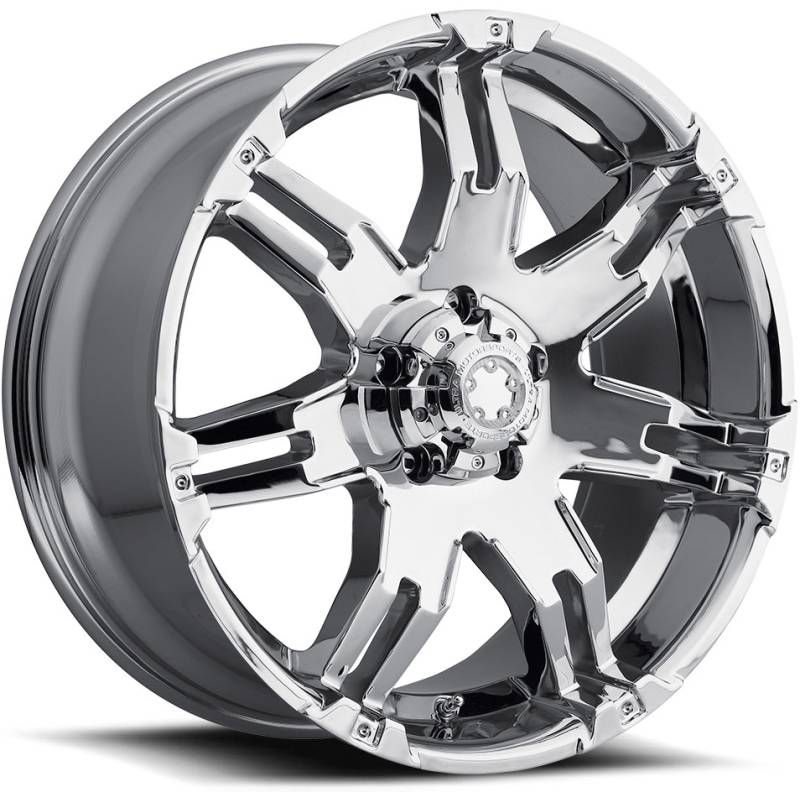 Ultra 237-238 Gauntlet Chrome Wheels