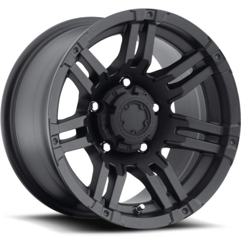 Ultra 237-238 Gauntlet Satin Black Wheels