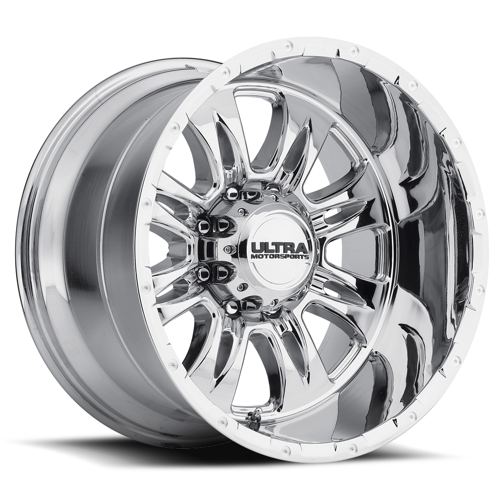 Ultra 249 Predator II 8-Lug Chrome Wheels