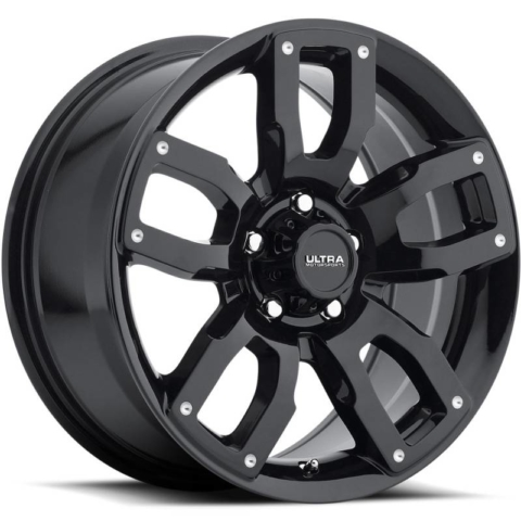 Ultra 251 Decoy Gloss Black Wheels