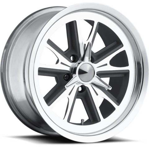 Ultra 454 Anthracit Grey Machined Wheels