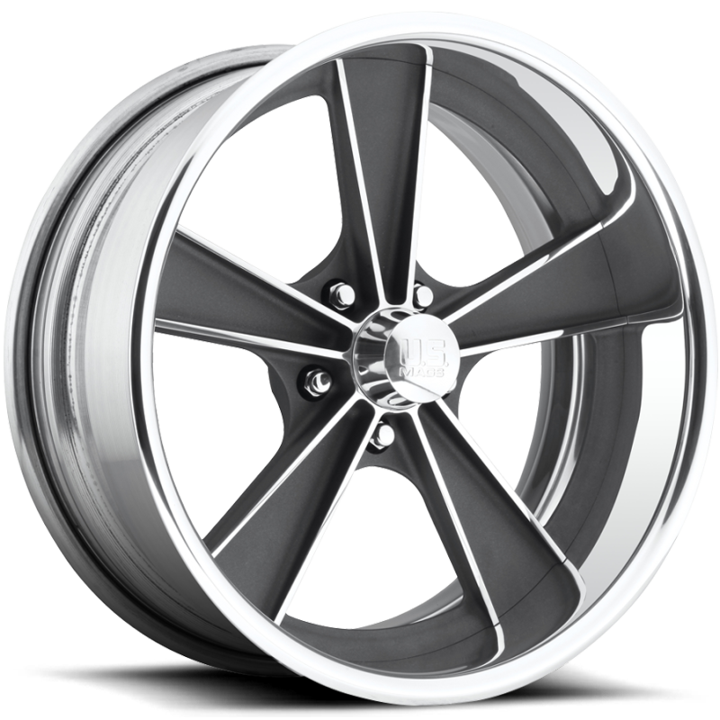 US Mags Dayton Gunmetal Wheels