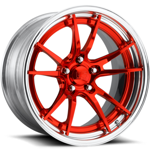 US Mags Grand Prix Concave Candy Red Wheels