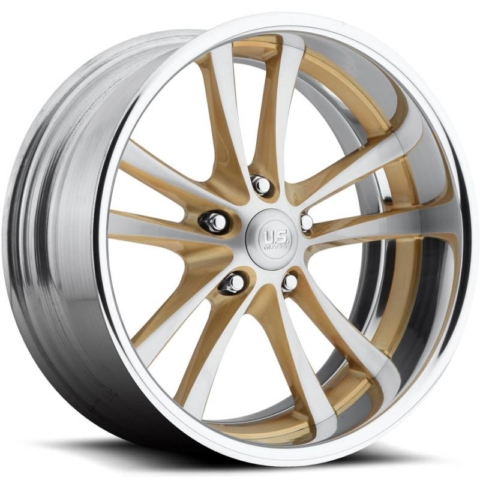 US Mags Mad Max Brushed Gold Wheels