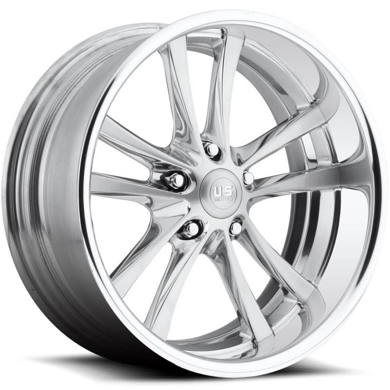 US Mags Mad Max Polished Wheels