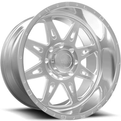 Weld Racing XT Cheyenne Brushed Wheels