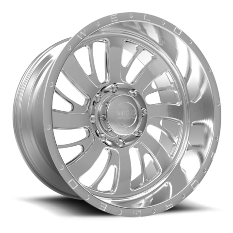 Weld Racing XT Falkata-8 Brushed Wheels