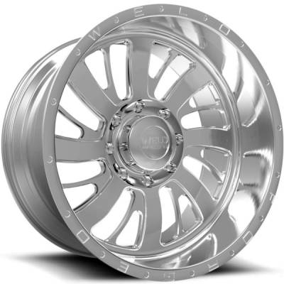 Weld Racing XT Falkata-8 Polished Wheels
