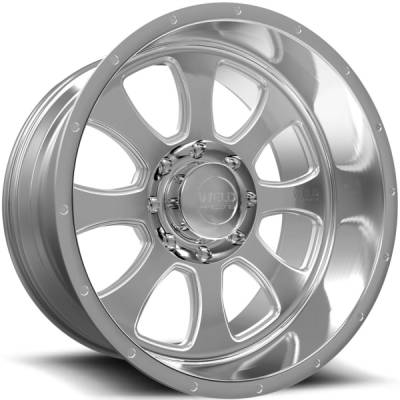 Weld Racing XT Renegade-8 Brushed Wheels