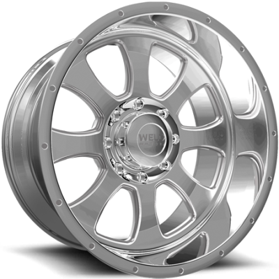 Weld Racing XT Renegade-8 Polished Wheels