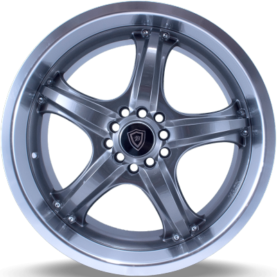 White Diamond W511 Gunmetal Wheels