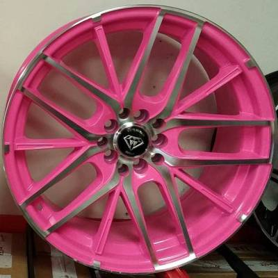 White Diamond W0029 Pink Wheels