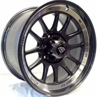 White Diamond W0089 Gunmetal Wheels