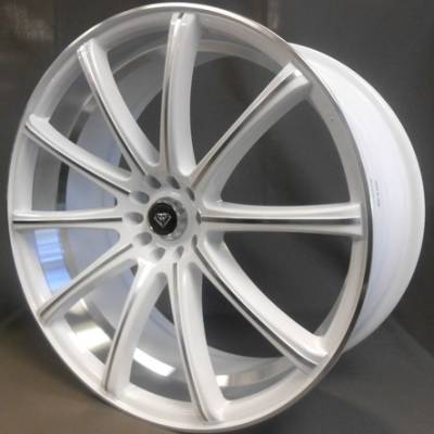 White Diamond W3195 White Wheels