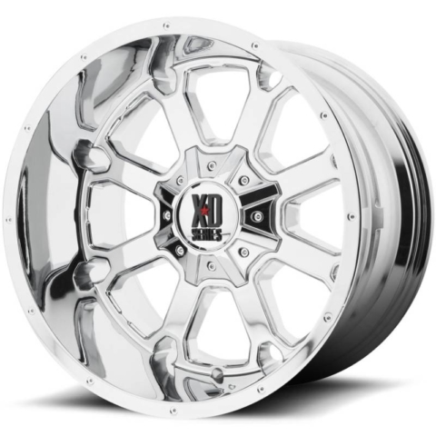XD Series XD825 Buck 25 Chrome Wheels