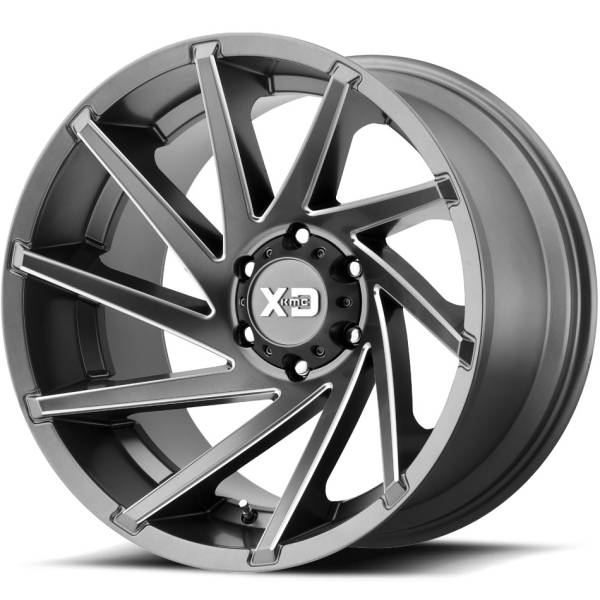 XD Series Wheels XD834 Satin Grey Milled
