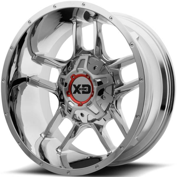 XD Series XD839 Clamp Chrome Wheels