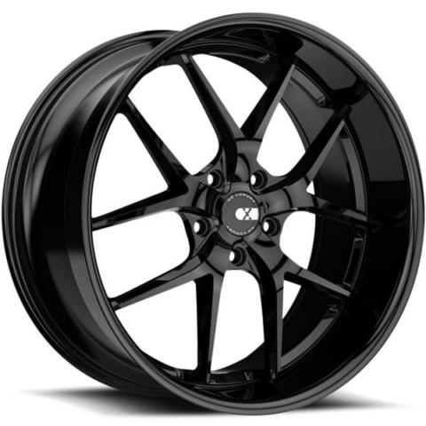 XO Athens Gloss Black Wheels