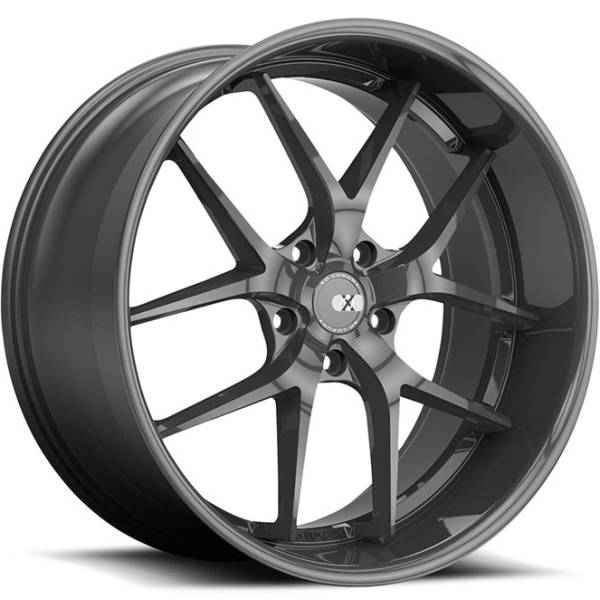 XO Athens Gloss Gunmetal Wheels