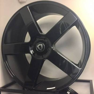 Capri 5288 Gloss Black Wheels
