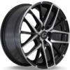 G-Line G0029 Black Machined Wheels
