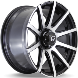 Ford Expedition Wheels G-Line G0036 Machine Black Wheels