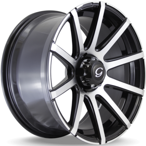 G-Line G0036 Machine Black Wheels