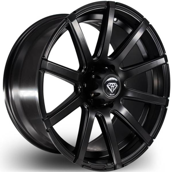 G-Line G0036 Matte Black Wheels