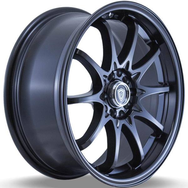 G-Line G1018 Satin Black Wheels