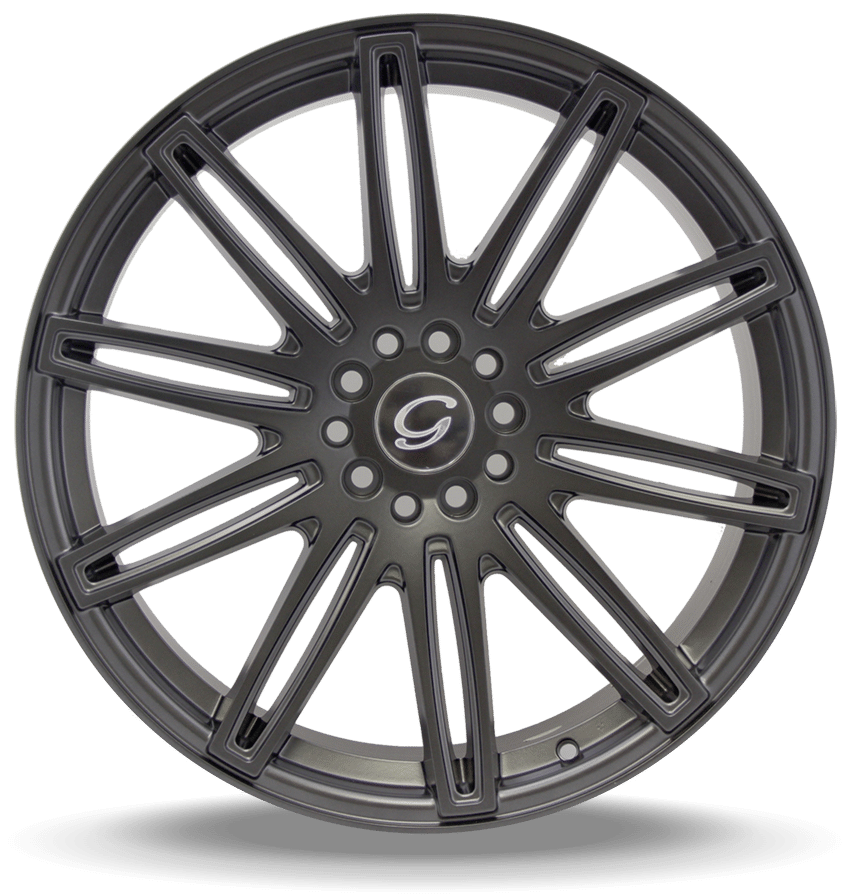 G-Line G1043 Dark Grey Wheels