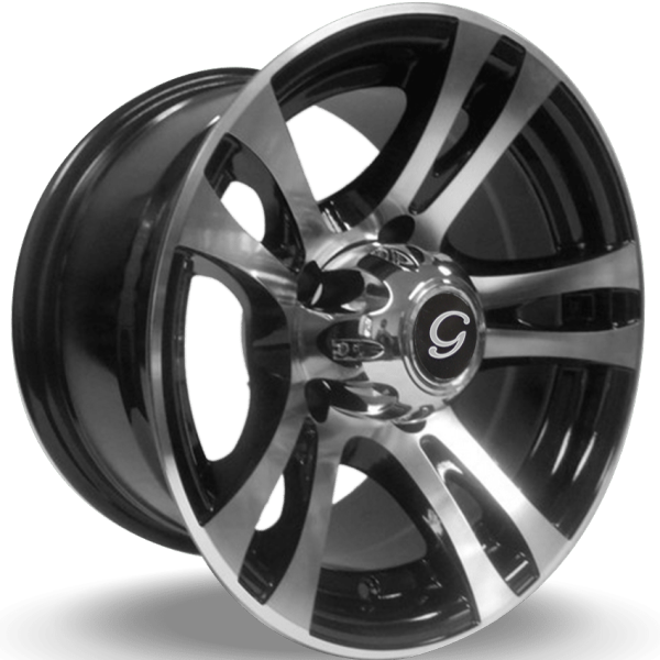 G-Line G5010 Machine Black Wheels