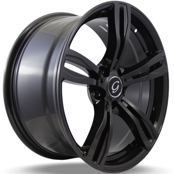 G-Line G5056 Gloss Black Wheels