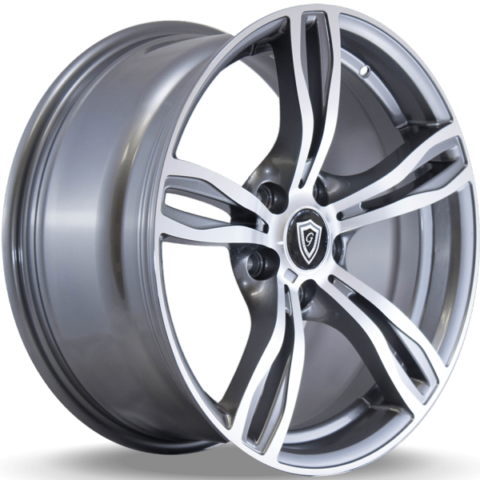G-Line G5056 Machine Grey Wheels