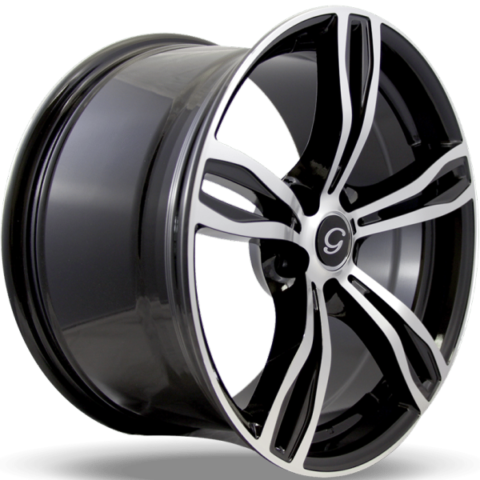 G-Line G5056 Machine Black Wheels