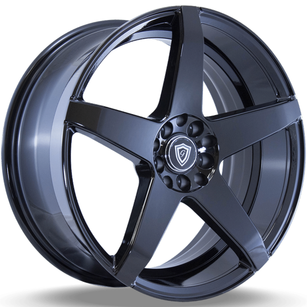 G-Line G5073 Gloss Black Wheels